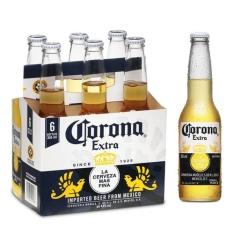 Cerveja Corona Extra 355ml Caixa com 06 unidades - R$ 27,48