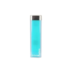Carregador Bateria Portátil Urban Factory Lipstick 2600 Mah Azul + Frete Gratis Por R$ 9
