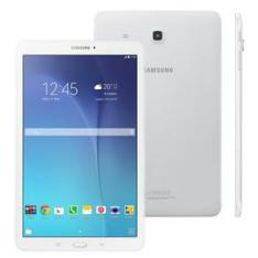 "Tablet Samsung Galaxy Tab E 8GB 9,6"" Wi-Fi - Android 4.4 Proc. Quad Core Câm. 5MP + Frontal por R$ 765"