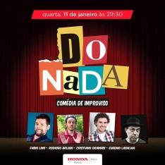 Quarta 11/01 21h30: DO NADA - Improviso com Fabio Lins, Rodrigo Arijon, Cristiano Dramasi e Eugenio Lasalvia