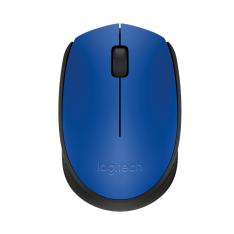 Mouse sem Fio Sensor Laser Logitech M0170 Azul e Preto  por R$ 35