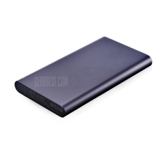Original Xiaomi Ultra-thin 10000mAh Mobile Power Bank 2  -  BLACK por R$ 49