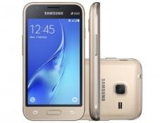 Smartphone Samsung Galaxy J1 Mini 8GB Dourado por R$ 360