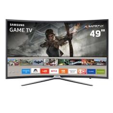 "Smart TV Games LED 49"" Full HD Curva Samsung 49K6500 por R$2499"