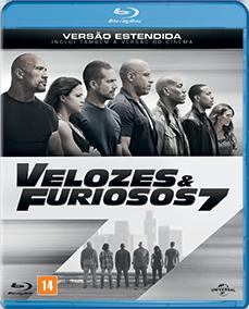 Velozes e Furiosos 7 ( Versão Estendida ) - Blu-Ray - R$ 17,90