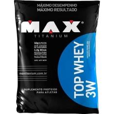 Top Whey 3w Refil Vitamina de Frutas 1,8 Kg - Max Titanium por R$ 20