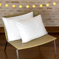 Kit Travesseiros em Percal 200 Fios 2 Peças - Casa & Conforto por R$ 40