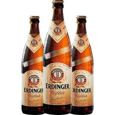 Kit 3 Cervejas Alemãs Tradicional Erdinger Clara - 500ml por R$ 40