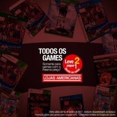 Jogos de PS4 e Xbox One: Leve 2 pague 1  - Americanas Loja física