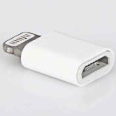 Adaptador para micro USB - R$3