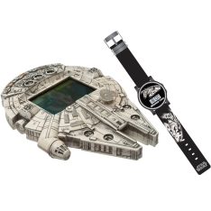Mini Game Star Wars Espaçonave e Relógio - R$ 34,90