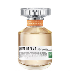 United Dreams Stay Positive Benetton Eau de Toilette - Perfume Feminino 50ml - R$ 49,99