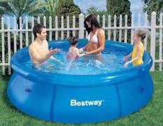 Piscina Bestway Fast Set 2.300L – Azul por R$ 170