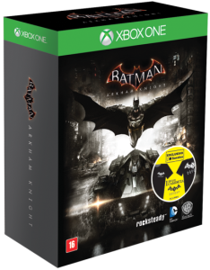 Batman - Arkham Knight - Ed. Exclusiva - Inclui Camiseta - Xbox One  por R$ 117