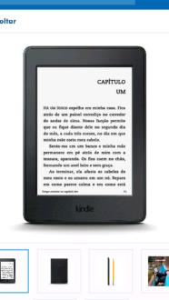 Kindle paperwhite R$310 com VISA checkout
