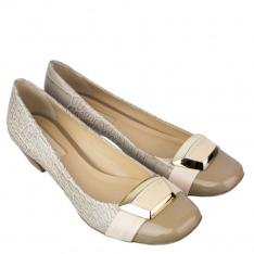 [BIZZSTORE] Sapato Feminino Jorge Bischoff Salto Baixo 4061-45 + Frete grátis