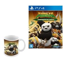 Kung Fu Panda: Confronto de Lendas + Caneca Exclusiva Kung Fu Panda - PS4 - R$ 56,90
