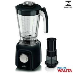 Liquidificador Walita com Copo de Plástico de 1,5 Litros e 5 Velocidades 550W - R$ 85,24