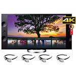 "Smart TV 65"" 3D Ultra HD 4K XBR-65X905 NFC, Web Browser,Triluminos, Motionflow XR - Sony por R$ 16751"
