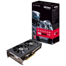 Placa de Vídeo Sapphire AMD Radeon RX 480 NITRO+ 8GB - R$ 1.217,13