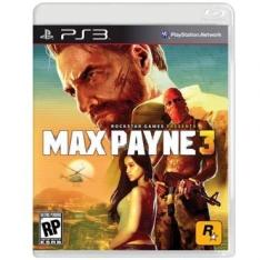 Max Payne 3 - PS3 por R$45