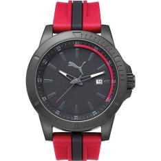 Relógio Masculino Puma Analógico com Calendário Esportivo 96265gppmpu3 por R$199