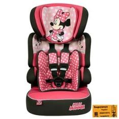 Cadeira para Automóvel Disney Beline SP Minnie Mouse 589604 – 09 a 36kg - R$300