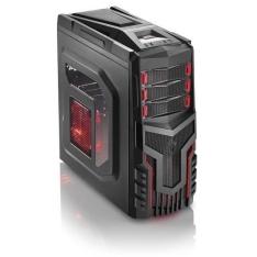 Computador Gamer Amd Quad Core A8 X4 7600 4gb Hyperx Hd 320gb Radeon R7 3green Titan - R$1.399