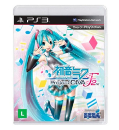 Hatsune Miku: Project DIVA F 2nd - PS3 - R$ 17,99