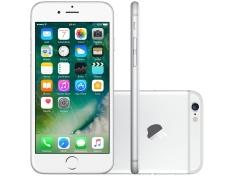 "iPhone 6 Apple 64GB Prata 4G Tela 4,7"" Retina - Câmera 8MP iOS 10 Proc. M8 Touch ID por R$2250"
