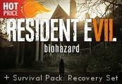 Resident Evil 7: Biohazard + Survival Pack: Recovery Set DLC EMEA Steam CD Key