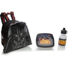 Lancheira Infantil Star Wars - Sestini Especial 16y01 Preta
