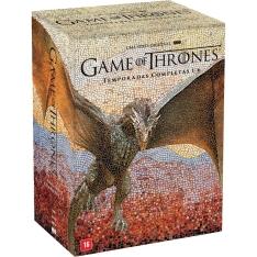 DVD - Game Of Thrones: 1ª a 6ª Temporada Completa R$ 142,45