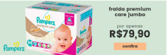Fraldas Pampers  - Premium Care Jumbo