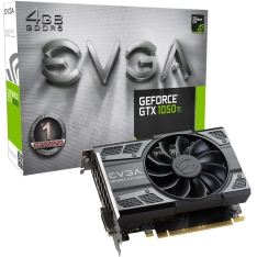 Placa de Vídeo VGA EVGA GeForce GTX 1050 Ti Gaming 4GB DDR5