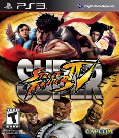 Super Street Fighter IV - PS3 - $36