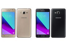 "Smartphone Samsung Galaxy J2 Prime, Dual Chip, Preto / Dourado, Tela 5"" 4G+WiFi, Android 6.0, 8MP, 8GB, TV Digital | R$585"