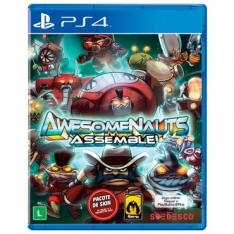 Jogo Awesomenauts para Playstation 4 (PS4 ) - SOEDESCO R$29,30