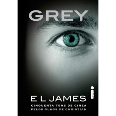 Livro - Grey: Cinquenta Tons de Cinza pelos Olhos de Christian - FRETE R$9,99