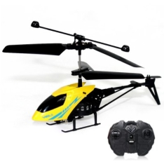 Mini RC 901 helicóptero Shatter resistente 2.5ch com sistema de giroscópio por R$30