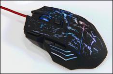 Mouse Gamer com 7 botões por R$16