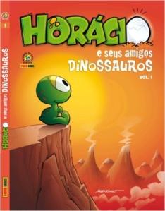 HQ - Horácio e Seus Amigos Dinossauros - Volume 1 (Capa Dura) - R$ 16,70