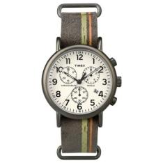 Relógio Masculino Timex, Analógico, Pulseira de Couro, Caixa de 4,0cm, Resistente à Água 3 ATM - TW2P78000WWN