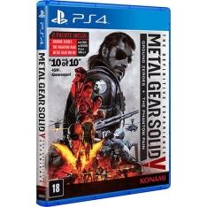 Cartão Submarino Game - Metal Gear Solid V: The Definitive Experience - PS4 por R$ 63
