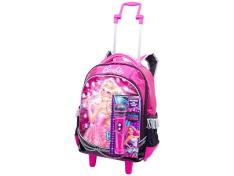 Mochila Barbie RockN Royals 20L - Sestini por R$ 90