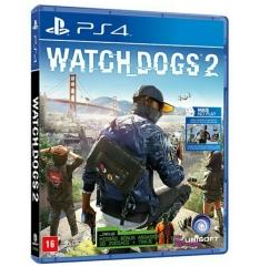 Watch dogs 2 (PS4) - R$95 c/ Cartão Sub