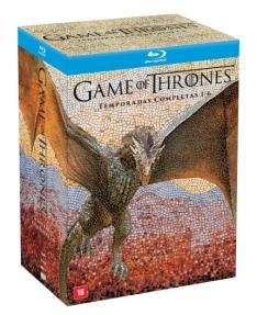 Blu-Ray Game Of Thrones - Temporadas Completas 1-6 - 5 Discos por R$ 270