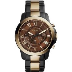 Relógio Masculino Fossil Analógico Clássico Fs5119 - R$ 470!