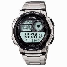 Relógio Casio Masculino Digital, Caixa em Resina, AE-1000WD-1AVDF por R$ 140