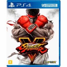 Street Fighter V PS4 por R$ 44